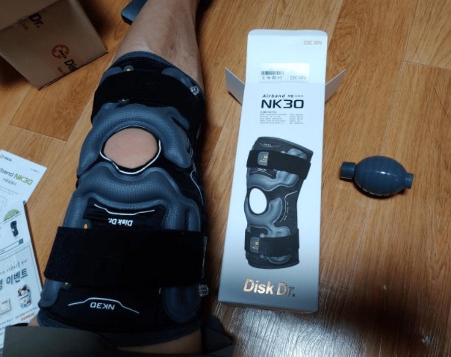 Nhiều khách hàng lựa chọn đai DiskDr để thoát khỏi chứng đau nhức đầu gối