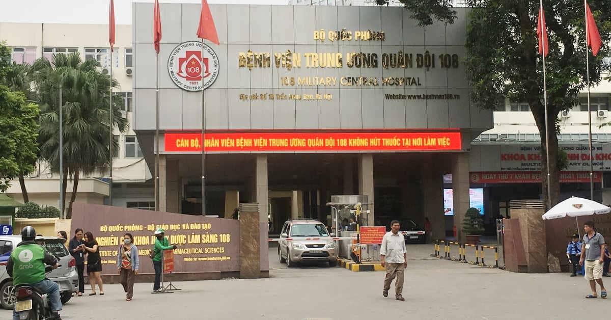 Bệnh viện TW Quân đội 108 là nơi chụp cộng hưởng từ uy tín tại HN