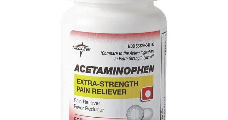 Acetaminophen là một loại thuốc giảm đau lưng loại nhẹ