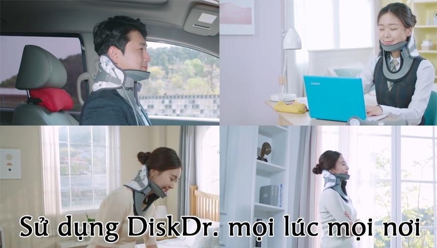 DiskDr. hỗ trợ điều trị nhiều bệnh về cột sống