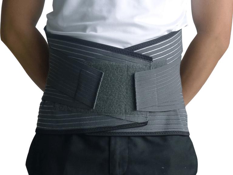 Đai lưng cố định cột sống sử dụng trong các trường hợp đau nhẹ