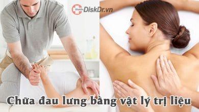 Chữa đau lưng bằng vật lý trị liệu