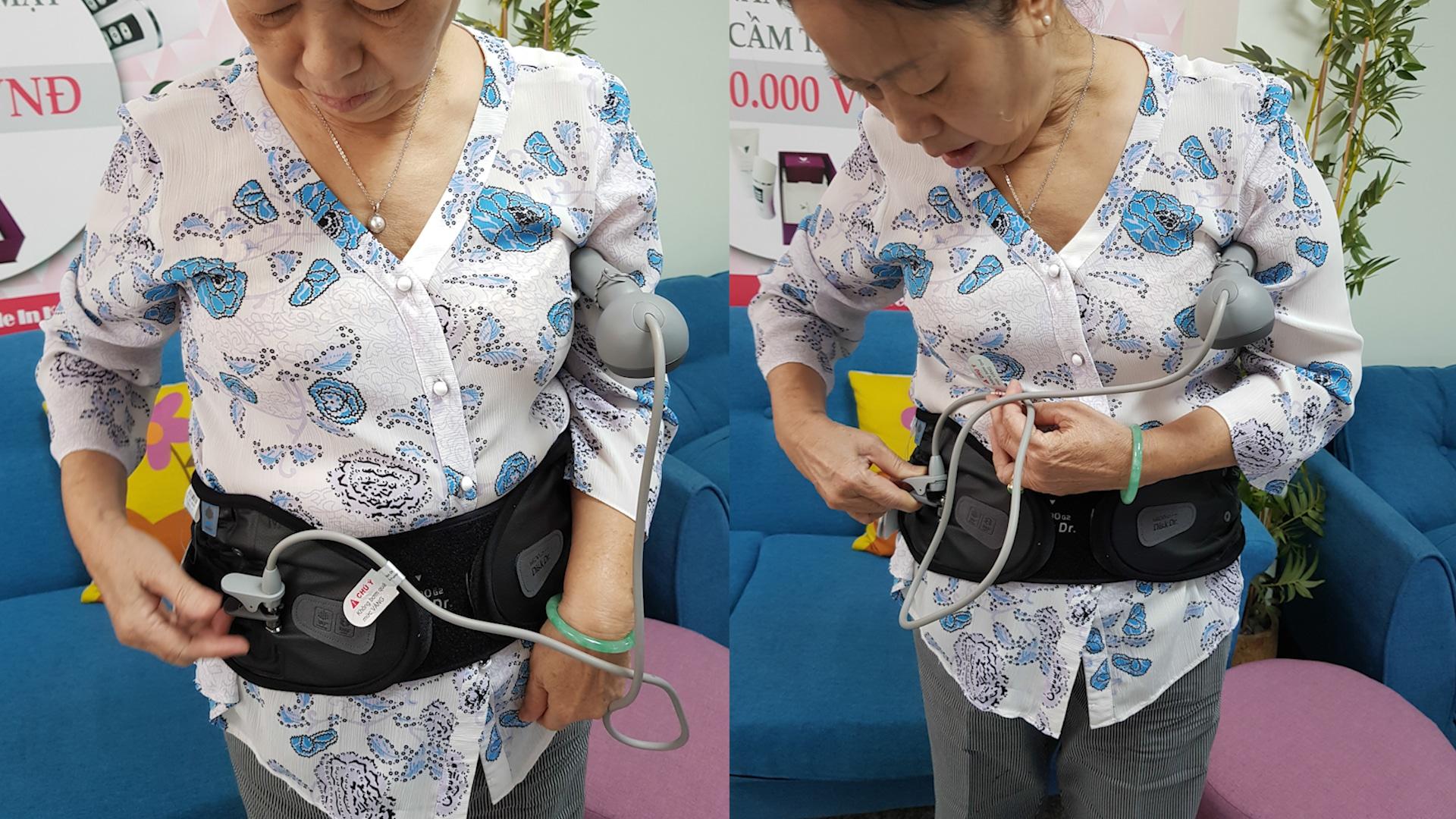 """DiskDr giúp điều trị đau lưng ngay tại nhà bằng phương pháp """"kéo giãn"""""""