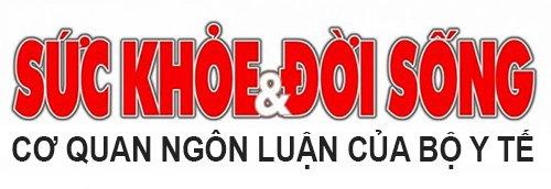 Logo báo Sức khỏe đời sống