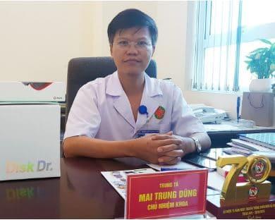 Trung tá, Bác sĩ Mai Trung Dũng