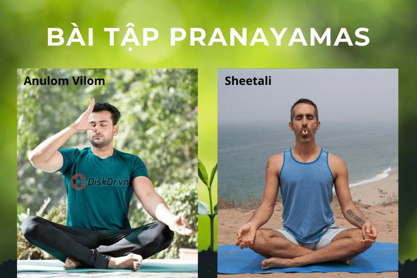Bài tập Pranayamas cho người đau vai gáy