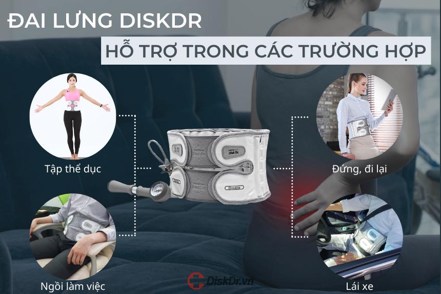 Đai kéo giãn DiskDr Hàn Quốc