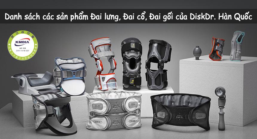 Các sản phẩm của DiskDr Hàn Quốc